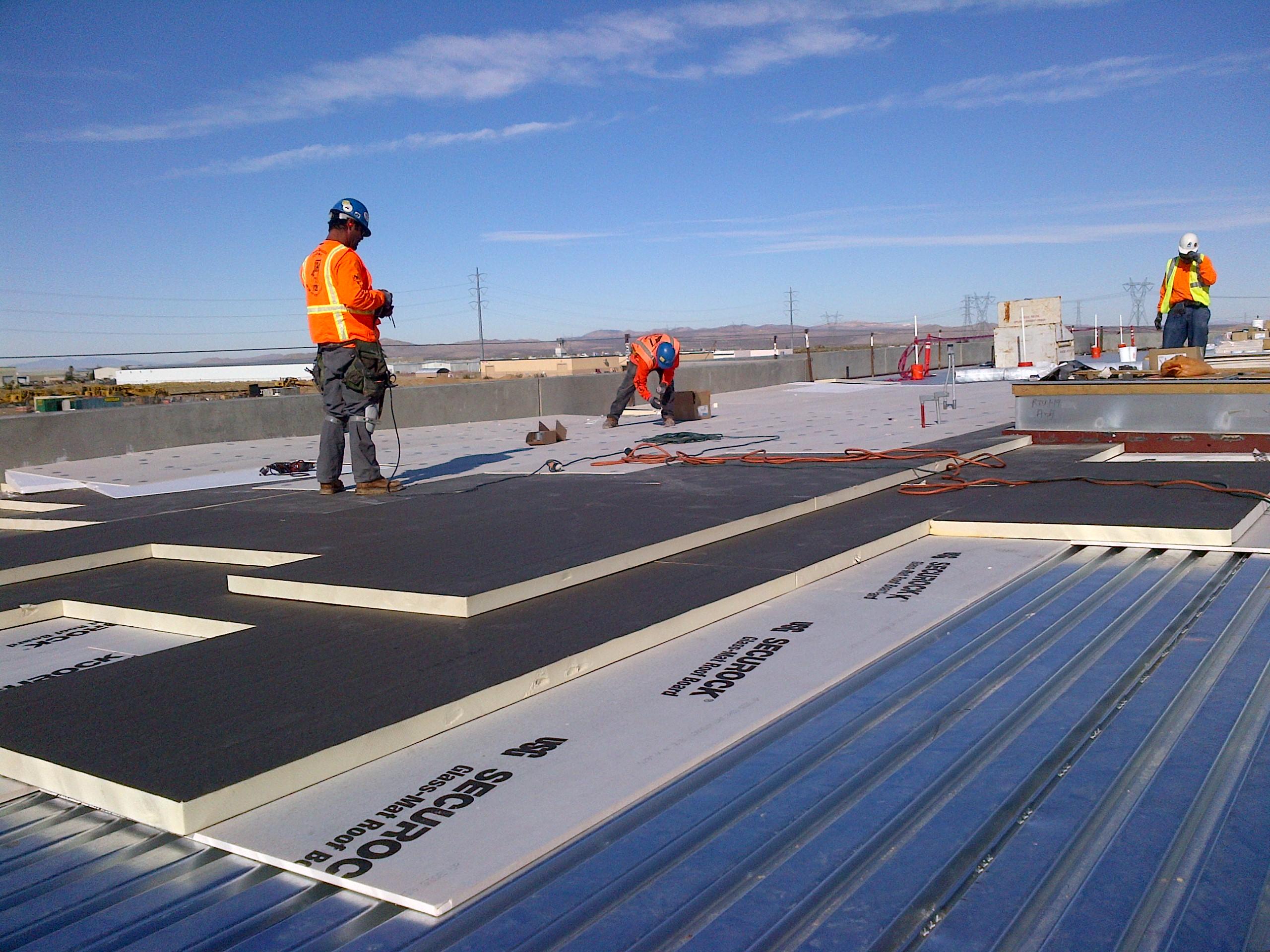 Securock roof board